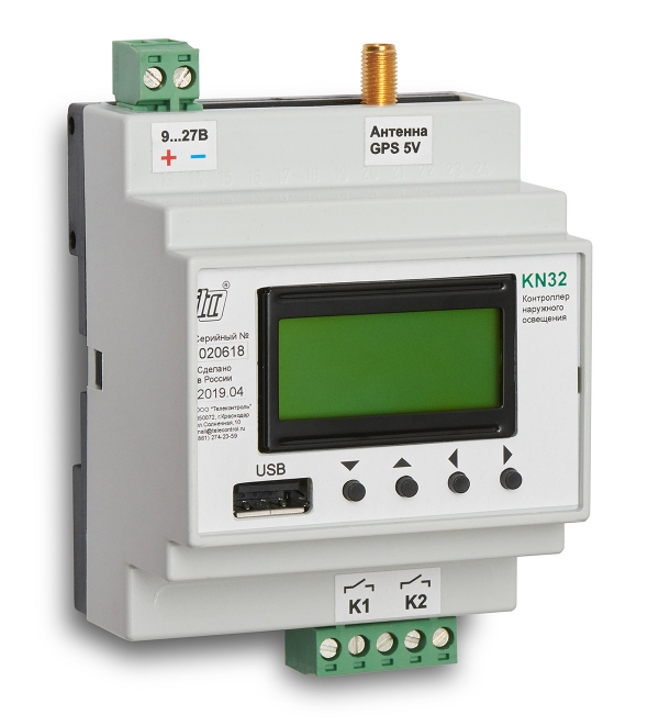 Контроллер наружного освещения KN32